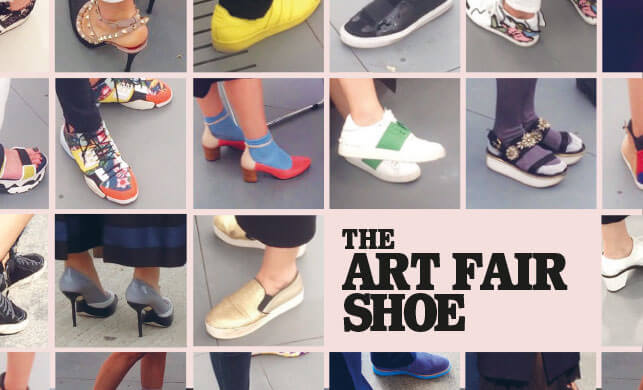 Vault Magazine - Art Fair Shoe