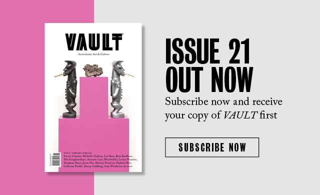 Vault Magazine - Issue 21, February 2018 - Steven Claydon