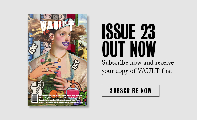 Vault Magazine - Issue 23, August 2018 - Allison Zuckerman