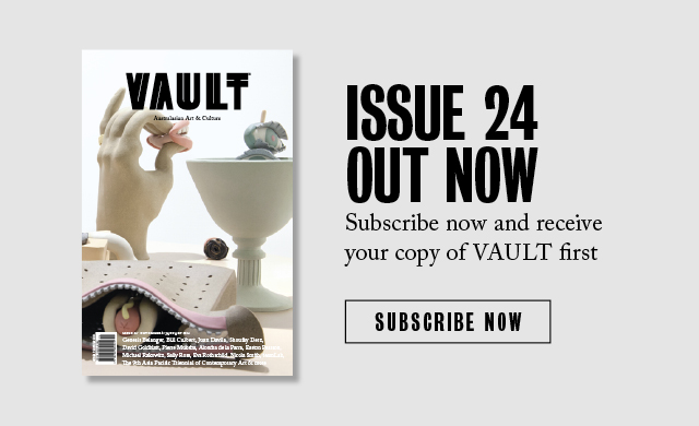 Vault Magazine - Issue 24, November 2018 - Allison Zuckerman