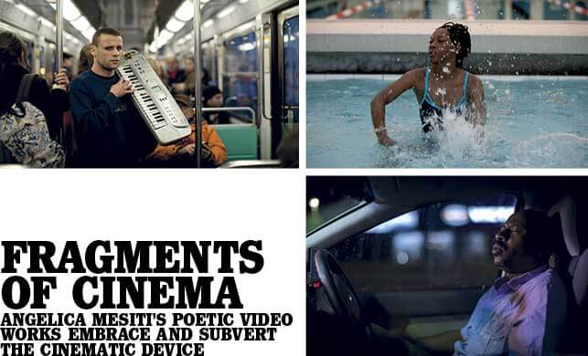 Vault Magazine - Fragments of cinema. Angelica Mesiti's poetic video works embrace and subvert the cinematic devices