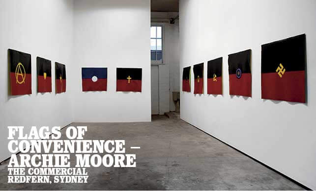 Vault Magazine - Flags of Convenience – Archie Moore. The Commercial Redfern, Sydney