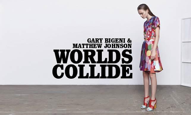 Vault Magazine - Gary Bigeni & Matthew Johnson Worlds Collide