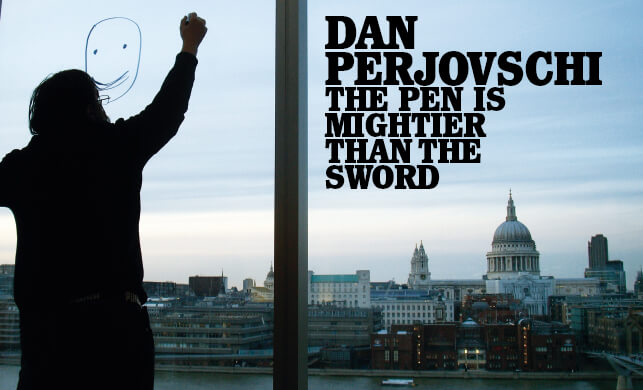 Vault Magazine - Dan Perjovschi