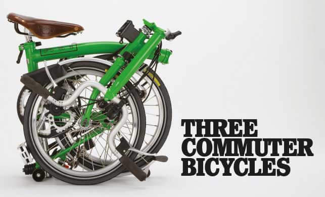 Vault Magazine - Three Commuter Bicycles