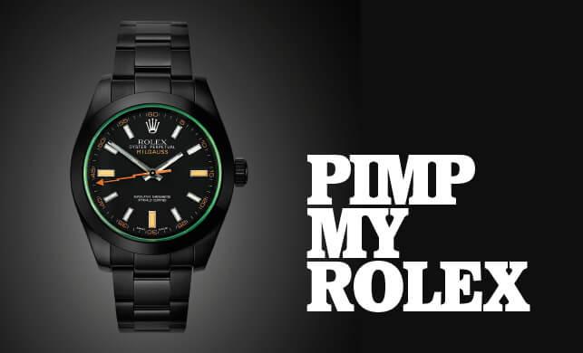 Vault Magazine - Pimp my Rolex